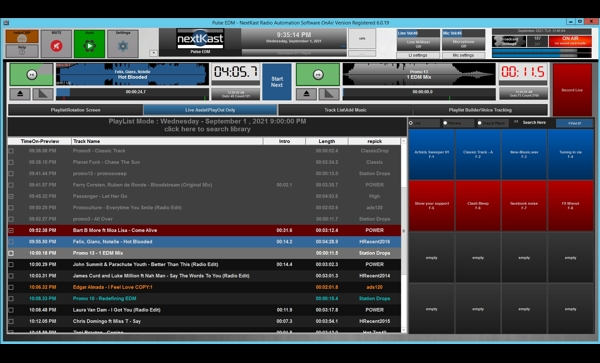 NextKast Internet Radio Automation Software