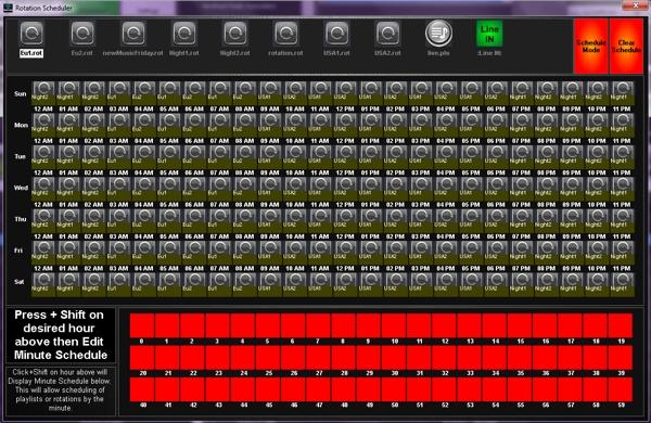Radio Automation Scheduling